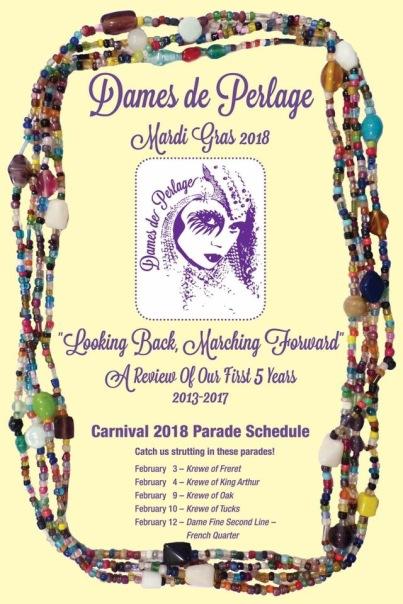 2018 Dames Schedule